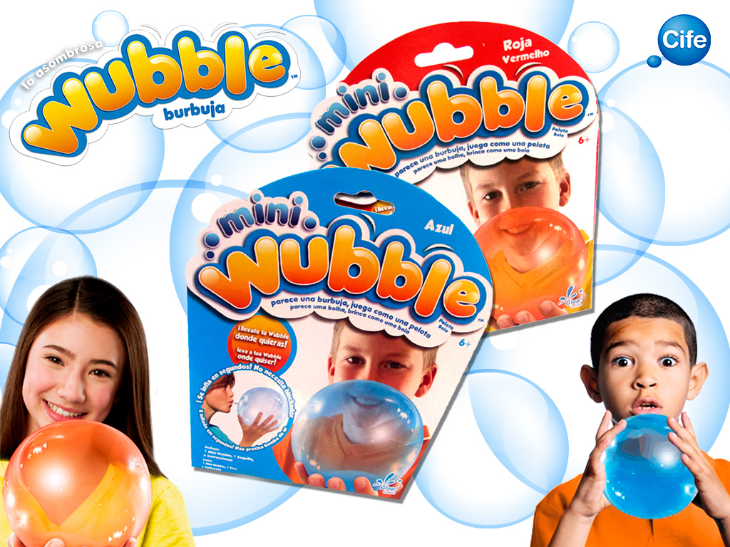 Burbuja MIni Wubble