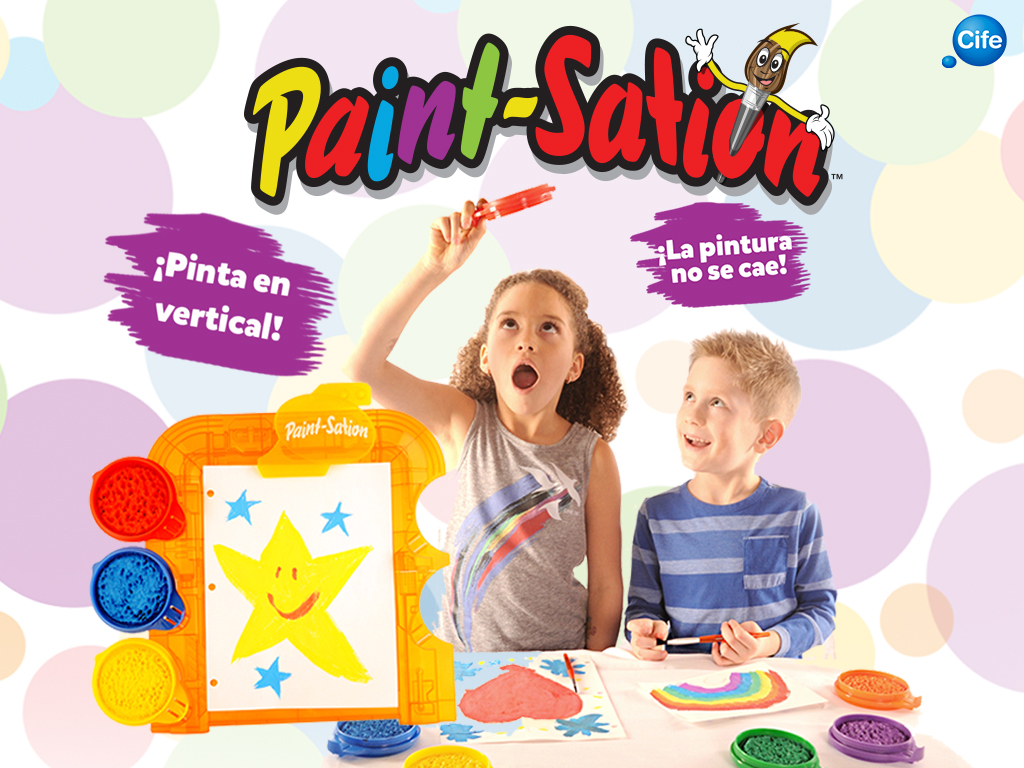 pintura infantil Paint-Sation
