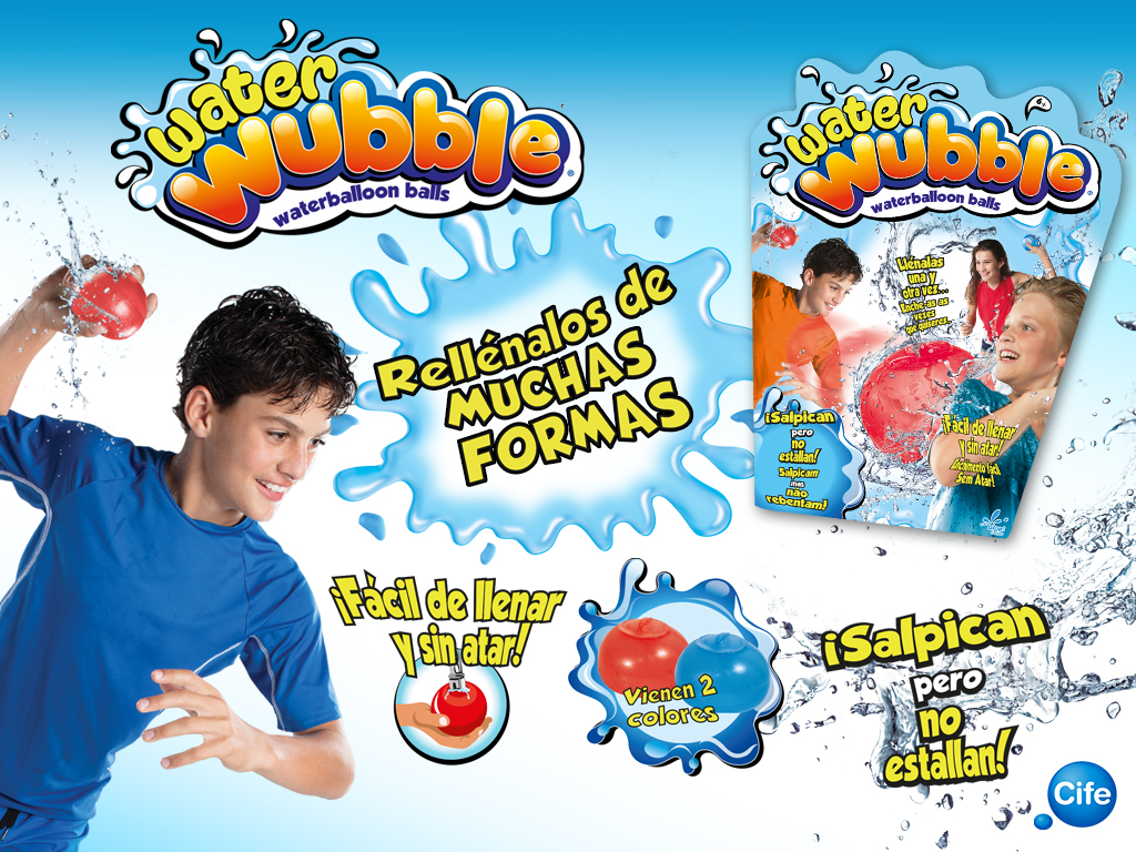 Water Wubble Bubble