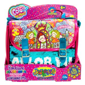 Bolsiux coloreante briefcase virgencitas distroller cife