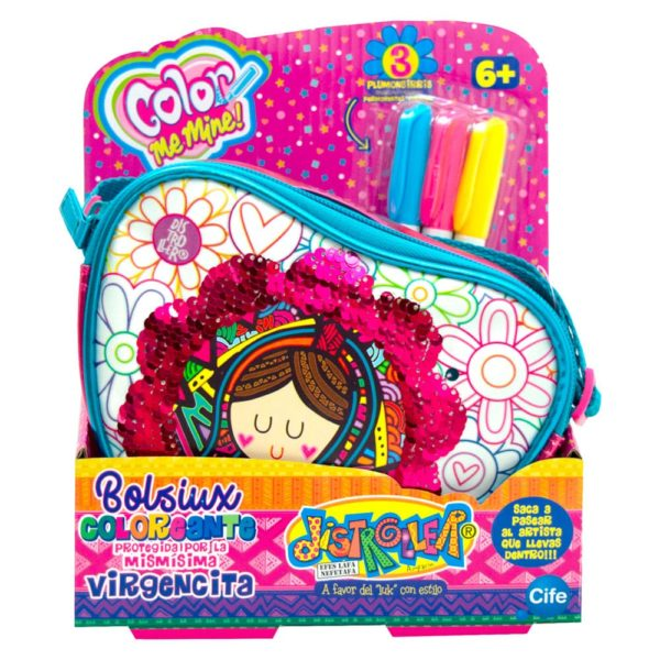 bolsiux coloreante corazon virgencitas distroller cife